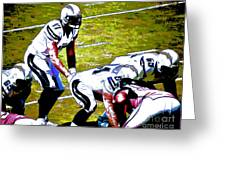 Phillip Rivers Quarterback Greeting Card