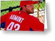 Phillipe Aumont Greeting Card