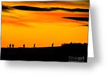 Photo Club Sunrise Greeting Card by Harry Strharsky