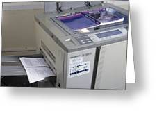 Photocopier Greeting Card