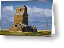 Photograph Of A  Prairie Barn Greeting Card