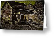 Photos In An Attic - Homestead Greeting Card