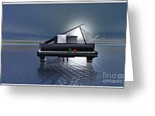 Pianissimo Greeting Card