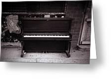 Piano Bar- Tallulah Louisiana Greeting Card