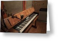 Piano Candelabra Greeting Card