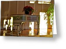 Piano In Light Greeting Card
