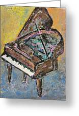 Piano Study 2 Greeting Card