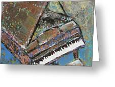 Piano Study 5 Greeting Card