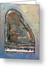 Piano Study 6 Greeting Card