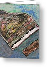Piano Study 7 Greeting Card