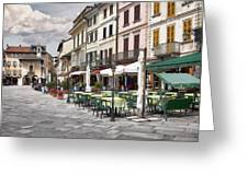 Piazza San Guilio Greeting Card