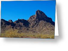 Picacho Peak - Arizona Greeting Card