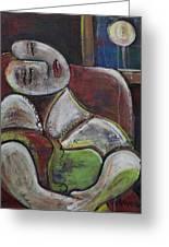 Picasso Dream For Luna Greeting Card