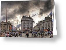 Piccadilly Panorama Greeting Card