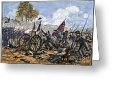 Picketts Charge, 1863 Greeting Card