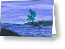 Picnic On The Point Greeting Card by Robert Meszaros