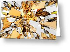 Pieces Of Gold Greeting Card