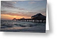Pier 60 Clearwater Beach Florida Greeting Card