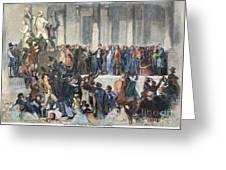 Pierce Inauguration Greeting Card by Granger