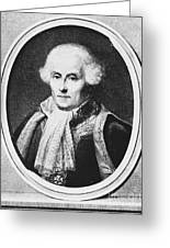 Pierre-simon Laplace, French Polymath Greeting Card by Omikron