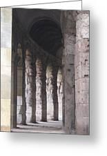 Pilars In Rome Greeting Card