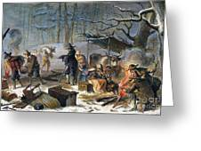Pilgrims: First Winter, 1620 Greeting Card