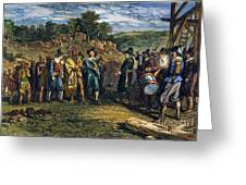 Pilgrims: Massasoit Greeting Card