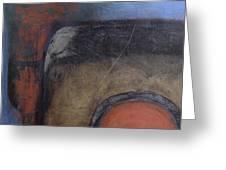Pillar Arch And Disc II Greeting Card