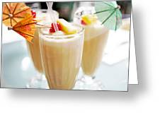 Pina Colada Greeting Card by Kim Fearheiley