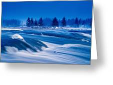 Pinawa Channel, Manitoba Greeting Card
