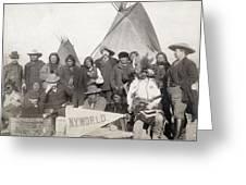 Pine Ridge Reservation Greeting Card