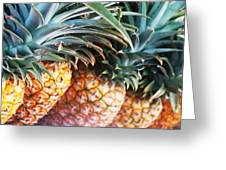 Pineapples Anyone Greeting Card