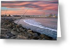Pinedo. Valencia. Spain Greeting Card