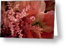 Pink Arrangement Greeting Card
