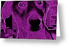 Pink Liberty Greeting Card