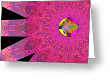 Pink Ribbon Of Hope Greeting Card
