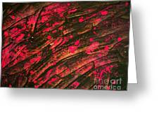 Pink Storm Greeting Card