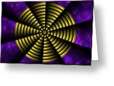 Pinwheel Greeting Card by Christopher Gaston