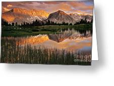 Pioneer Basin Greeting Card by Buck Forester