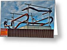 Pipes Greeting Card