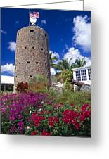 Pirate Castle Tower Greeting Card