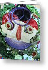 Pirate Salad Saturday Greeting Card