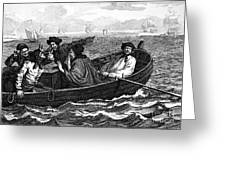 Pirates, 18th Century Greeting Card