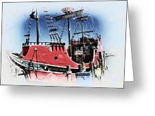 Pirates Ransom - Clearwater Florida Greeting Card
