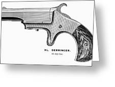 Pistol, 19th Century Greeting Card by Granger