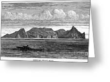 Pitcairn Island, 1879 Greeting Card
