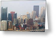 Pittsburgh Skyline Greeting Card