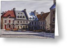 Place Royale Greeting Card