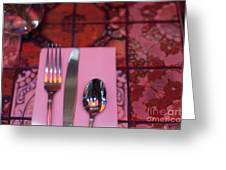 Place Setting Greeting Card