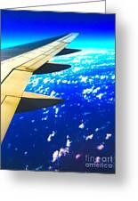 Plane Time Greeting Card